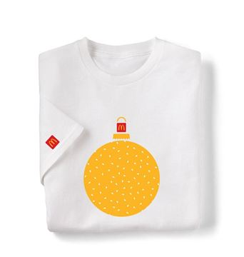 Picture of Sesame Seed Ornament White T-Shirt