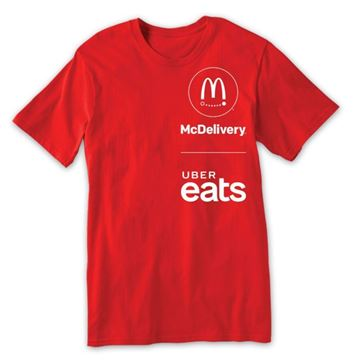 Picture of McDelivery Red T-Shirt