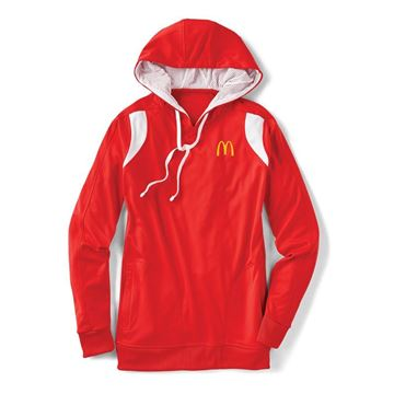 Picture of Men's Red Performance Hoodie