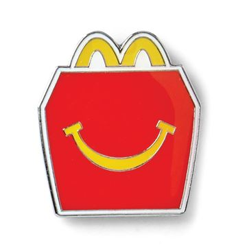 Picture of Happy Meal Lapel Pin