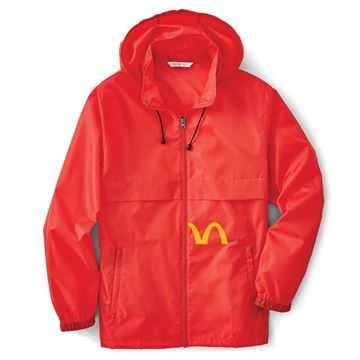 Picture of Lightweight Red Water Resistant Jacket