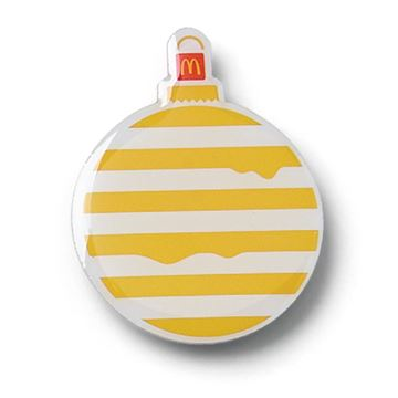 Picture of Melty Cheese Ornament Pin