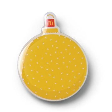 Picture of Sesame Seed Ornament Pin