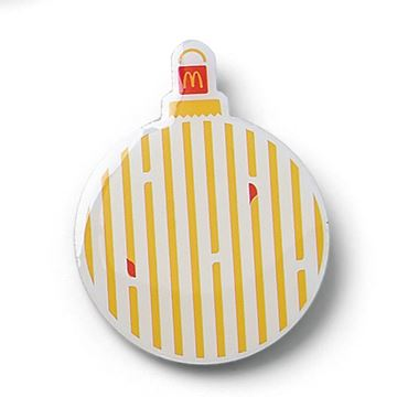 Picture of Dipped Fries Ornament Pin