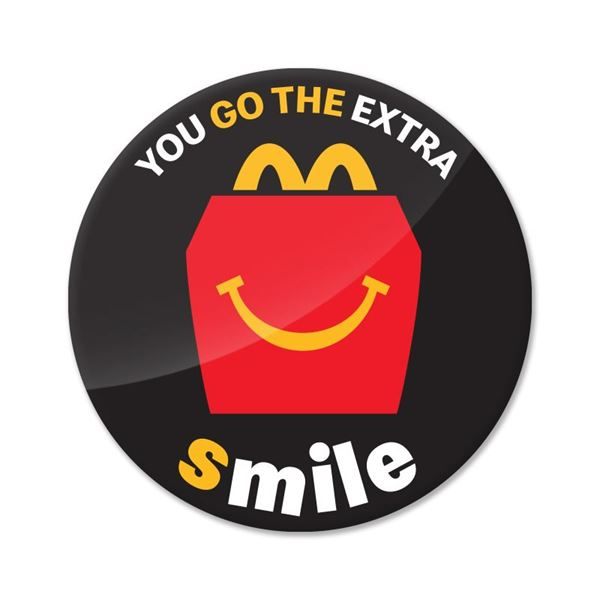 Picture of Extra Smile Pin
