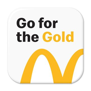 Picture of Go For The Gold Pin