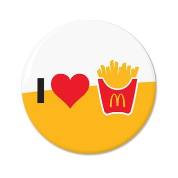 Picture of I Love Fries Pin