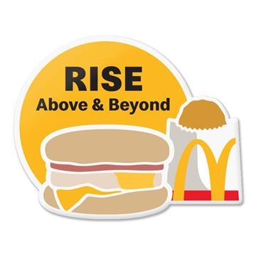 Picture of Rise Above & Beyond Pin