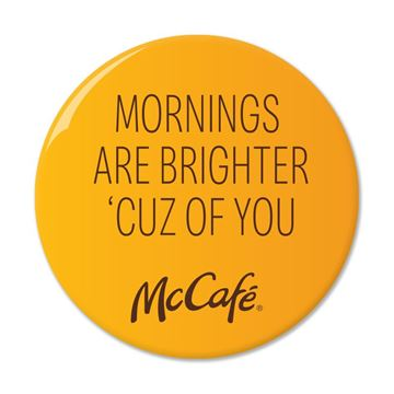 Picture of McCafe Bright Mornings Pin