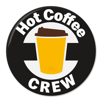 Picture of Hot Coffee Crew Pin