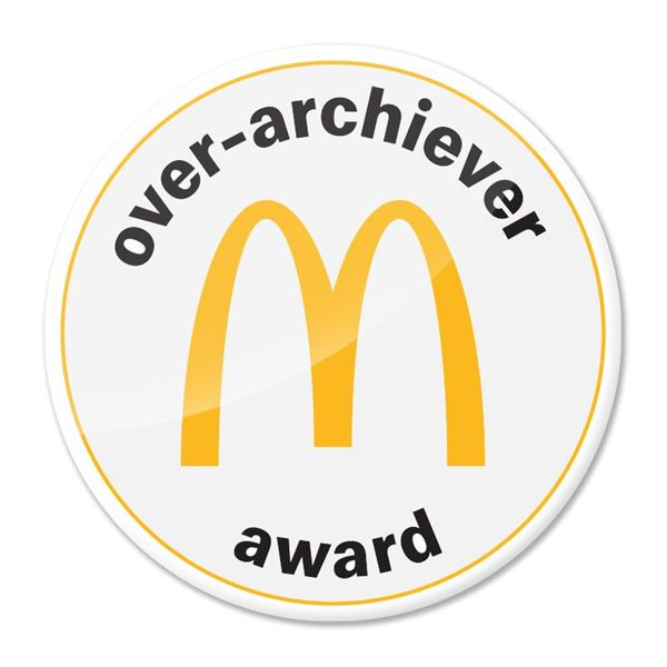 Picture of Over-Archiever Pin