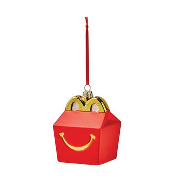 Picture of Happy Meal Blown Glass Ornament