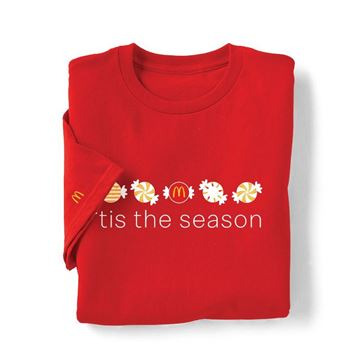 Picture of Holiday Mint Red T-Shirt