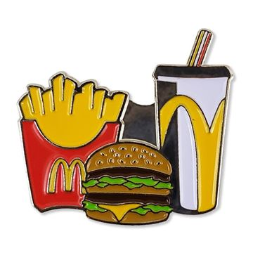 Picture of Combo Meal Lapel Pin