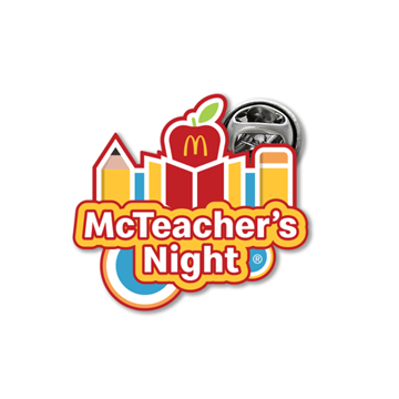 Picture of McTeacher's Night Lapel Pin
