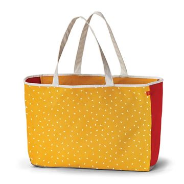 Picture of Colorblock Sesame Seed Tote