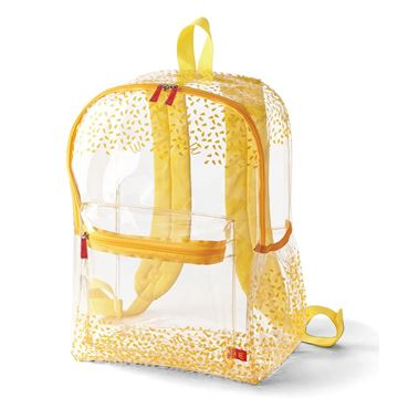 Picture of Sesame Seed Clear Backpack
