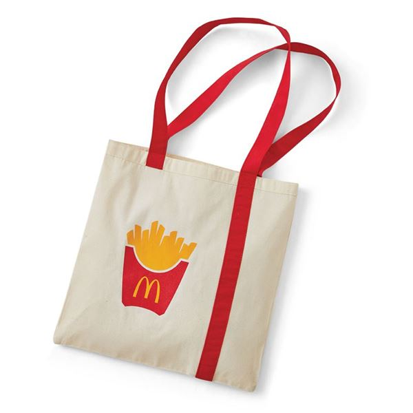 Picture of Fry Box Icon Canvas Tote