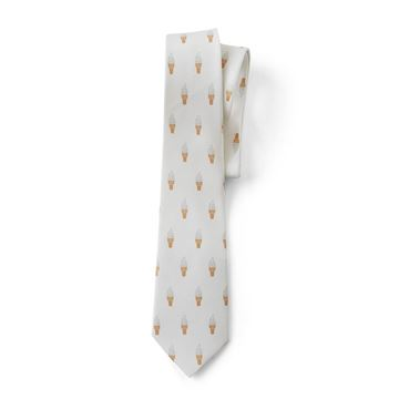 Picture of Men's Vanilla Cone Pattern Tie