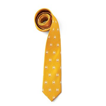 Picture of Men's Hash Brown Pattern Tie
