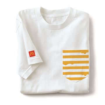 Picture of Melty Cheese Pocket T-Shirt