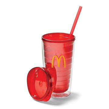 Picture of 16 oz Red Arches Tumbler