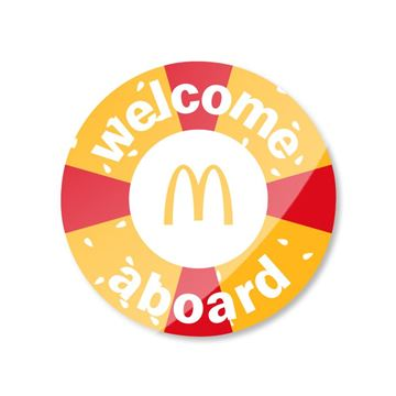 Picture of Welcome Aboard Pin