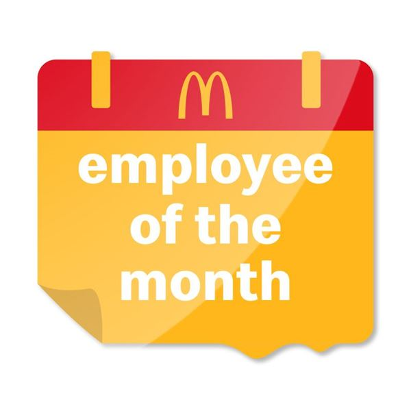 Picture of Employee of the Month Pin