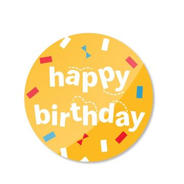 Picture of Happy Birthday Pin