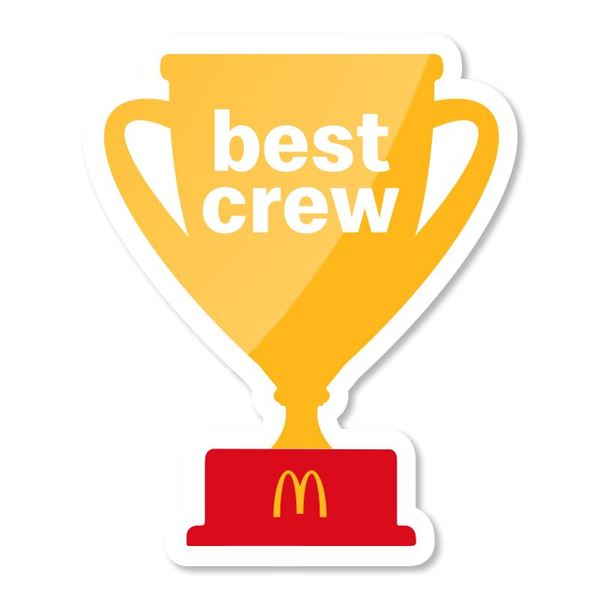 Picture of Best Crew Trophy Pin