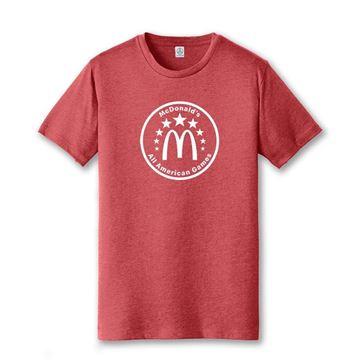 Picture of Red All American Games Jersey T-Shirt