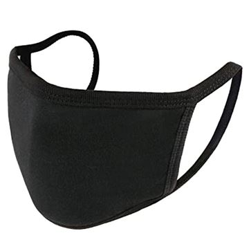 Picture of Black Cloth Face Mask