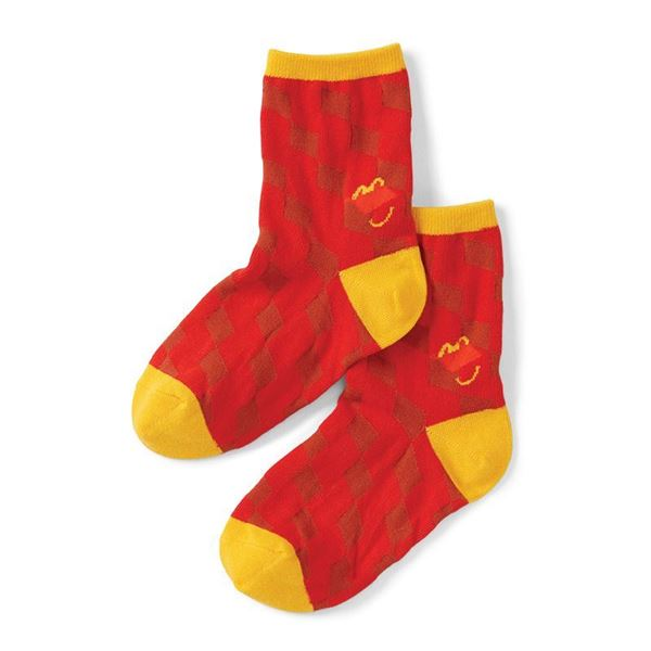 Picture of Youth Happy Meal Pattern Socks