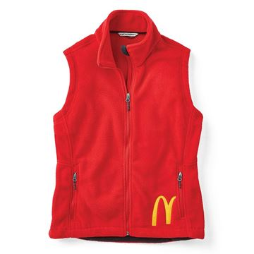 Picture of Ladies' Cropped Arches Fleece Vest
