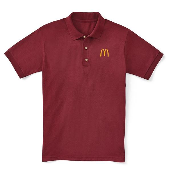Picture of Maroon Value Polo