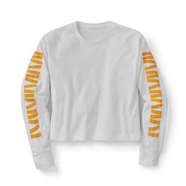 Picture of Jumble Cropped Long Sleeve Tee