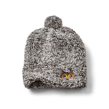 Picture of Cropped Arches Sherpa Beanie