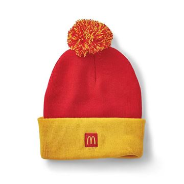 Picture of Arches Token Pom Beanie