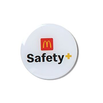Picture of Arches Safety Lapel Pin