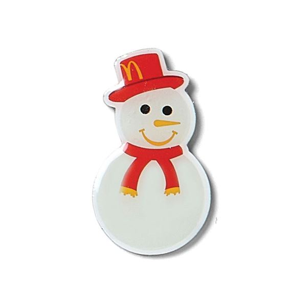 Picture of Holiday Snowman Lapel Pin
