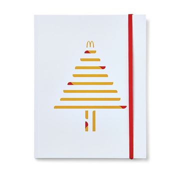 Picture of Dipped Fries Tree Icon Notebook