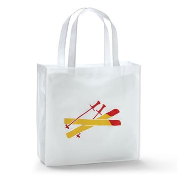 Picture of Dipped Fries Skis Tote Bag