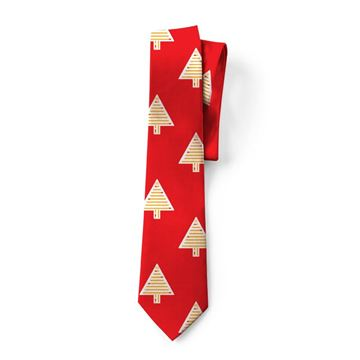 Picture of Men's Dipped Fries Tree Tie