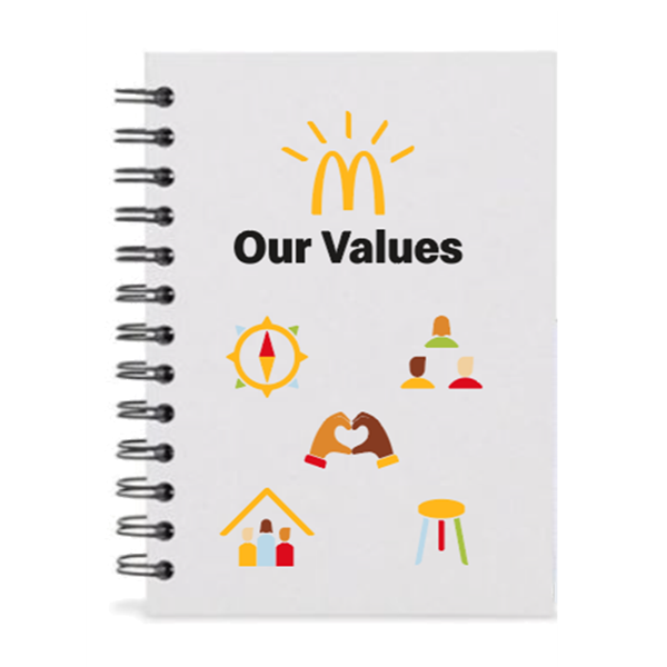 Picture of Our Values Journal Book
