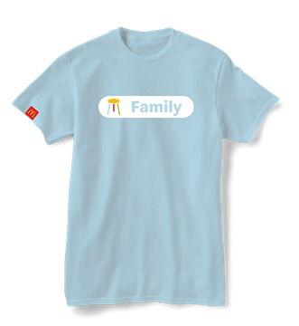 """Picture of Our Values """"Family"""" T-Shirt"""