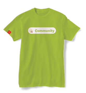 """Picture of Our Values """"Community"""" T-Shirt"""