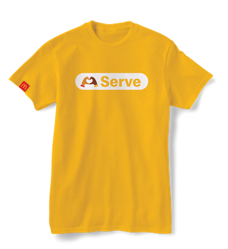 """Picture of Our Values """"Serve"""" T-Shirt"""