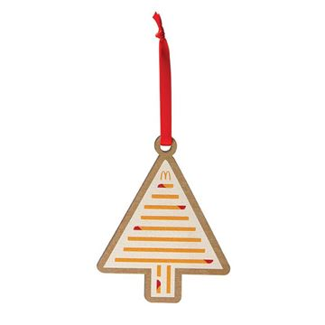 Picture of Dipped Fries Tree Wood Ornament