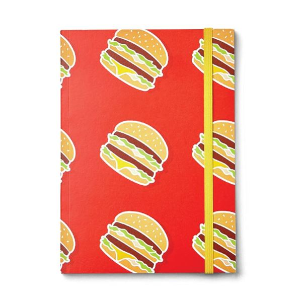 Picture of Big Mac Icon Pattern Notebook
