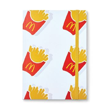 Picture of Fry Box Icon Pattern Notebook